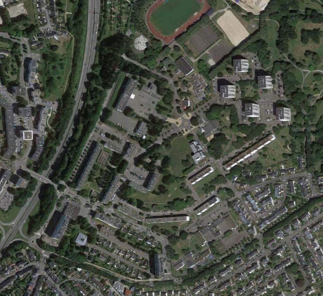 Urbanisme: AGAP mandataire requalifie le quartier Bois-du-Château (ANRU): espaces publics et implantation des nouveaux bâtiments