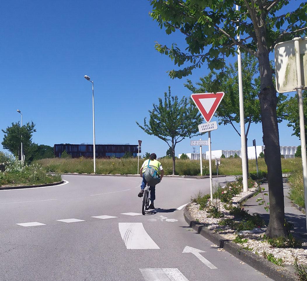 Avril 2020: AGAP est attributaire de l'accord cadre pour l'aménagement des pistes cyclables de Vannes Agglomération