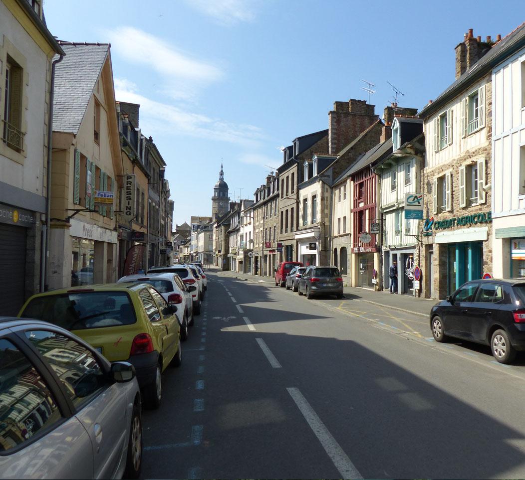 Mars 2020: L'agence est retenue pour l'étude de revitalisation du centre-ville de Lamballe (22)