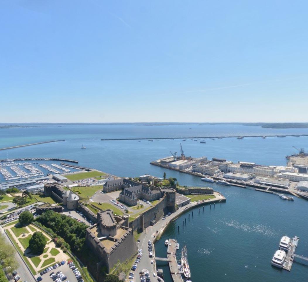 OCT 2020: agap + partenaires retenus pour une étude de programmation paysagère et touristique de la Rade de Brest