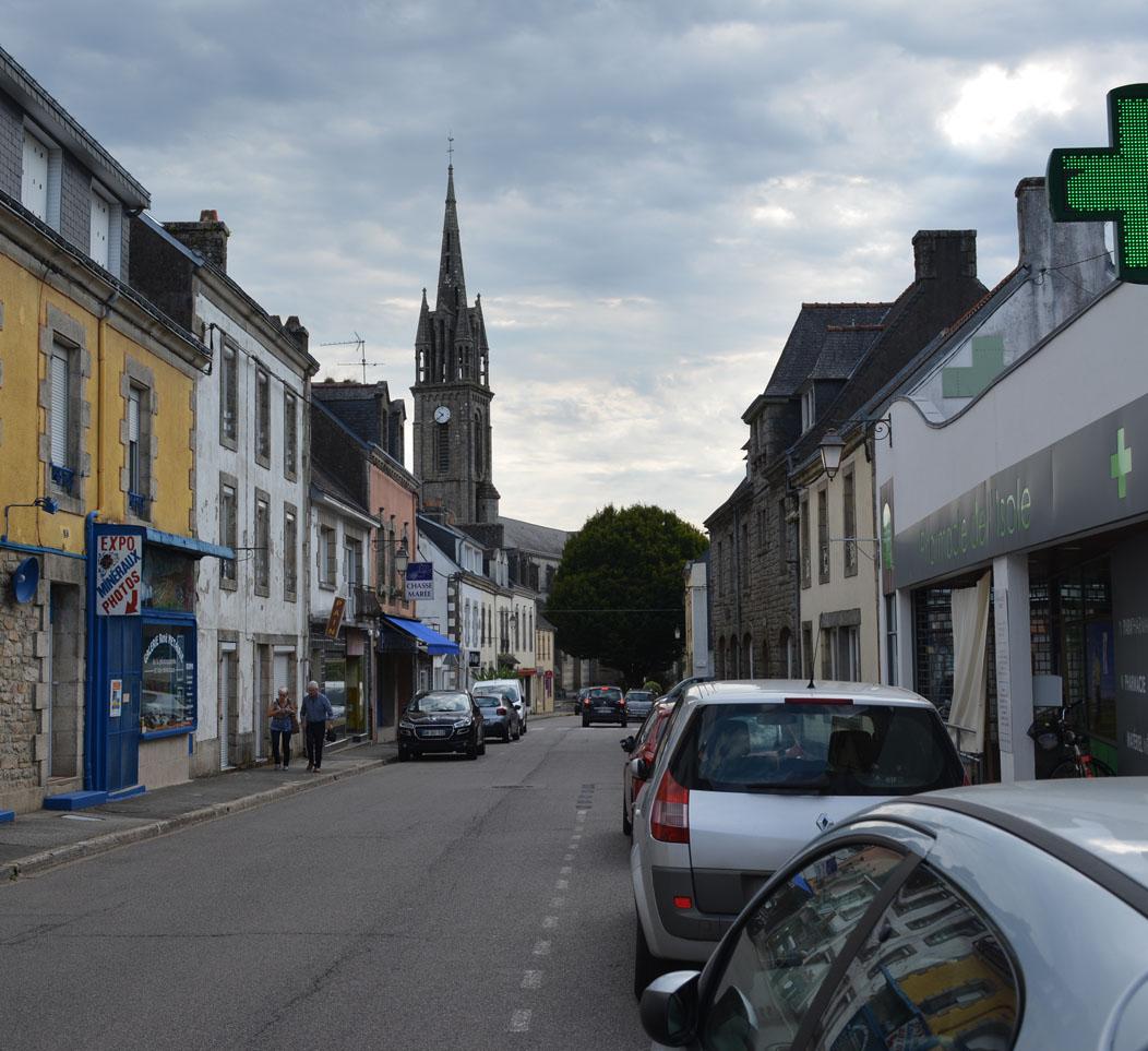 NOV 2020: AGAP + partenaires retenus pour l'étude de revitalisation du centre-bourg de Scaër (29)